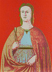 Warhol - 1984 - Saint Apollonia, II.330