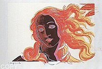 Warhol - 1984 - Sandro Botticelli, Birth of Venus, 1482, II.318