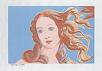 Warhol - 1984 - Sandro Botticelli, Birth of Venus, 1482, II.319