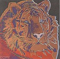 Warhol - 1983 - Siberian Tiger, II.297