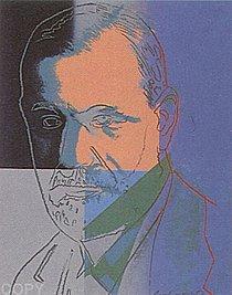 Warhol - 1980 - Sigmund Freud, II.235