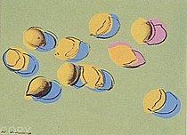 Warhol - 1978 - Space Fruit: Lemons, II.196