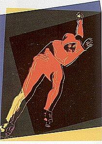 Warhol - 1983 - Speed Skater, II.303
