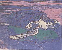 Warhol - 1985 - Turtle, II.360A
