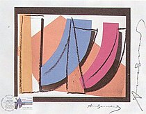 Warhol - 1979 - U.N. Stamp, II.185