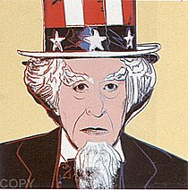 Warhol - 1981 - Uncle Sam, II.259