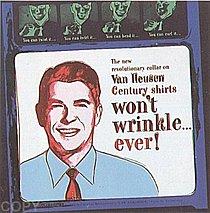 Warhol - 1985 - Van Heusen (Ronald Reagan), II.356