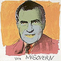 Warhol - 1972 - Vote McGovern, II.84