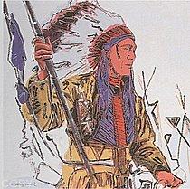 Warhol - 1986 - War Bonnet Indian, II.373