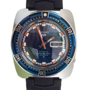 Seiko 5 Automatic Watch - 5126-8120