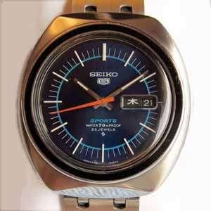 Seiko 5 Automatic Watch - 6106-8560