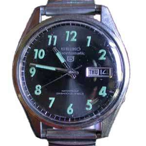 Seiko 5 Automatic Watch - 6619-8060
