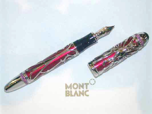 Montblanc - Andrew Carnegie - Ruby - Fountain Pen
