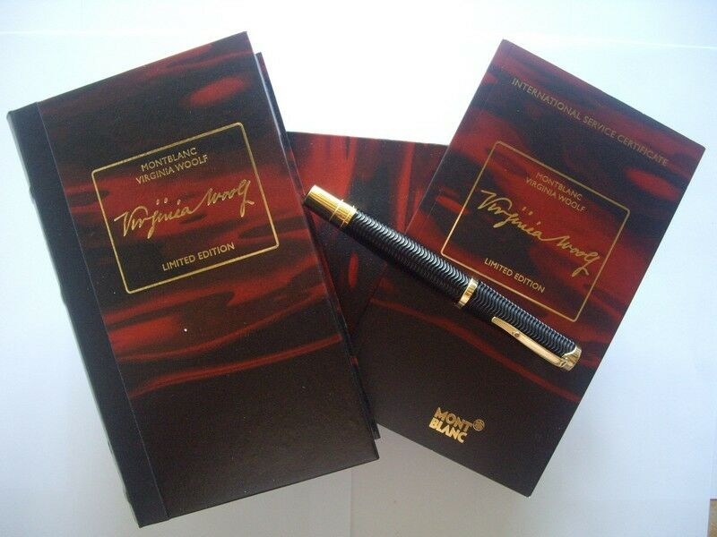 Montblanc - Virginia Woolf - Limited - Fountain Pen