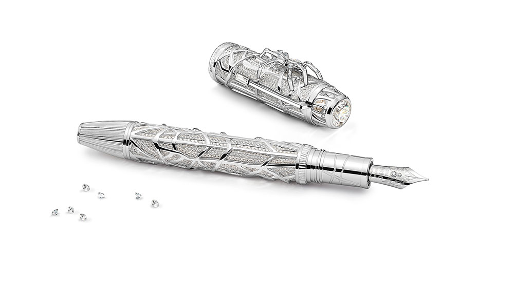 Montblanc - Heritage Metamorphosis White - Artisan - Fountain Pen