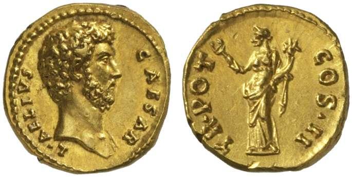 Ancient Coin - Aelius - Quinarius