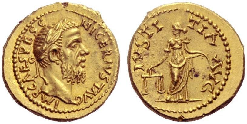 Ancient Coin - Pescennius Niger - Aureus
