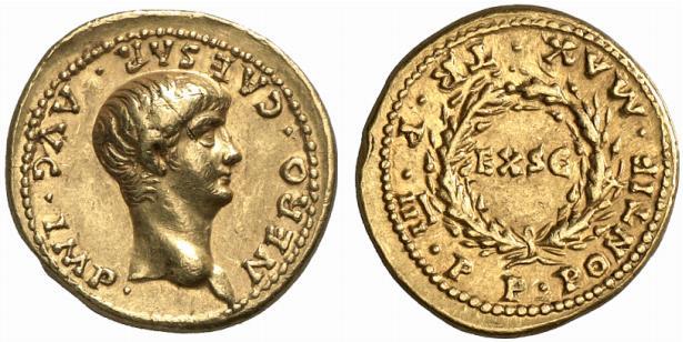Ancient Coin - Nero - Aureus