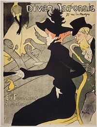 Toulouse-Lautrec - Le Divan Japonaise