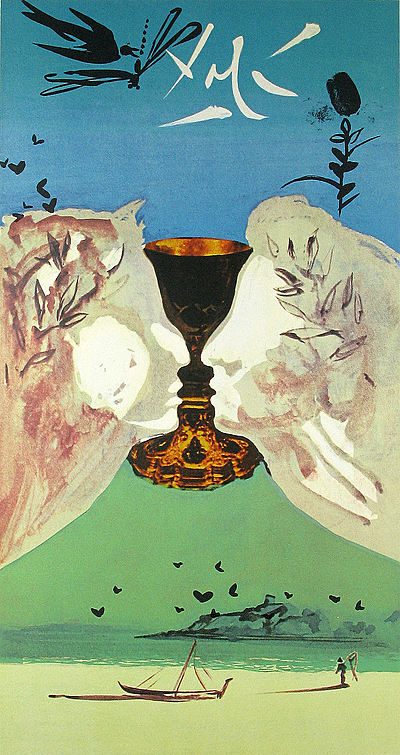 Dali Print - Ace of Cups