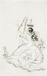 Dali Print - Escargot (Snail)