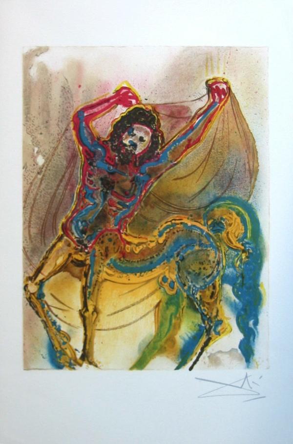 Dali Print - Le Centaur de Crete