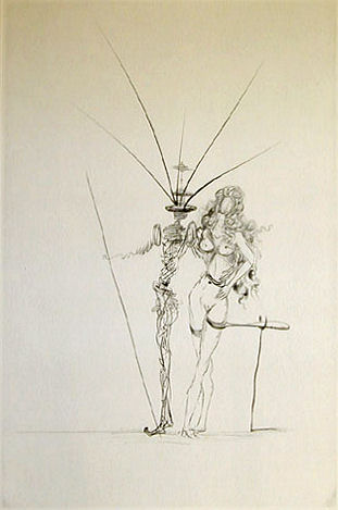 Dali Print - Poemes Secrets d
