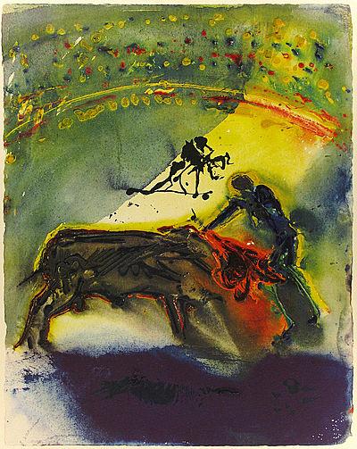 Dali Print - Tauromachie #1