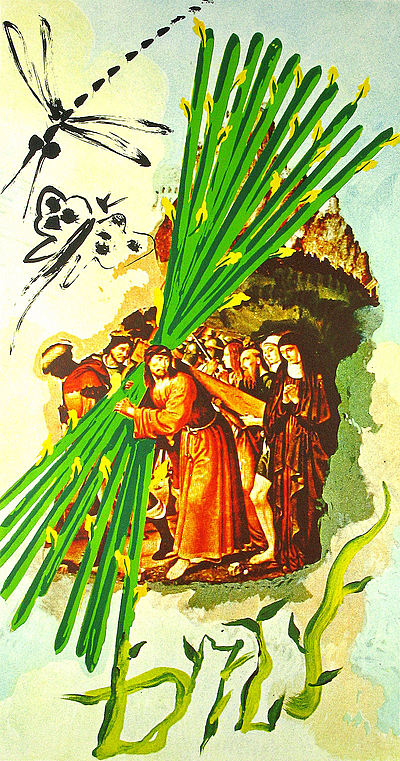 Dali Print - Ten of Staves