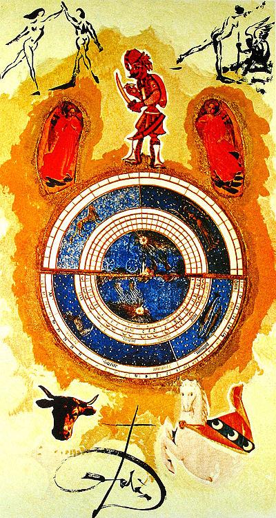 Dali Print - Wheel of Fortune