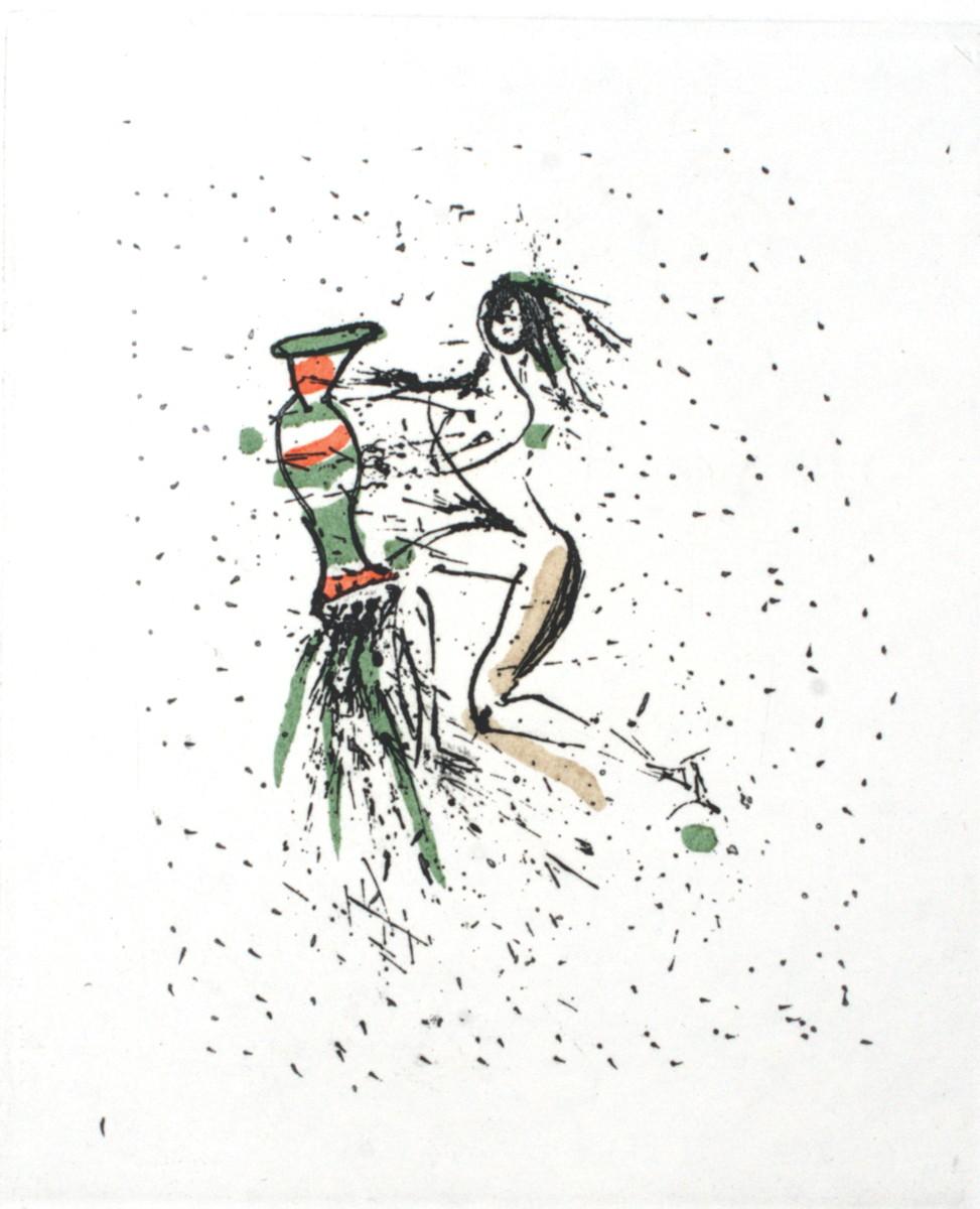 Dali Print - Aquarius