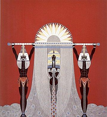 Erte Print - The Egyptian