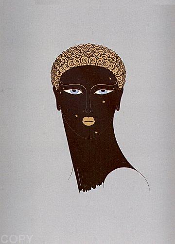 Erte Print - Queen of Sheba
