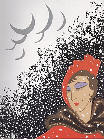 Erte Print - Winter