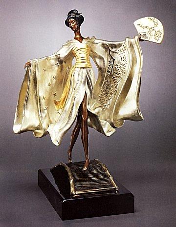 Erte Sculpture - Asian Princess