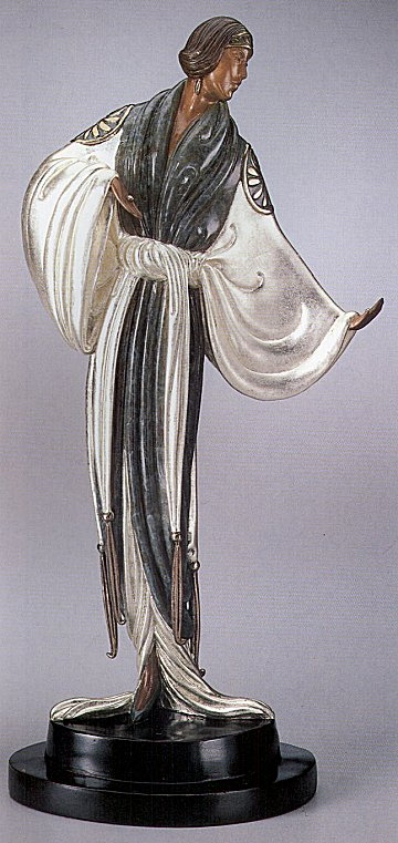 Erte Sculpture - Belle de nuit