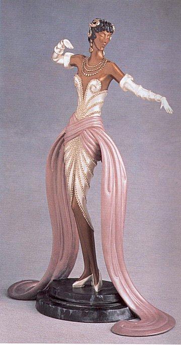 Erte Sculpture - Belle du bal
