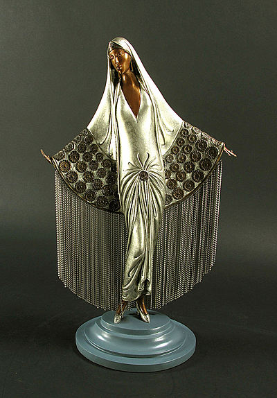 Erte Sculpture - Beloved