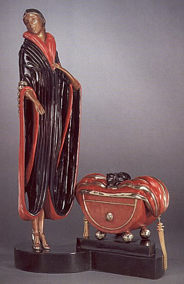Erte Sculpture - Caramelle