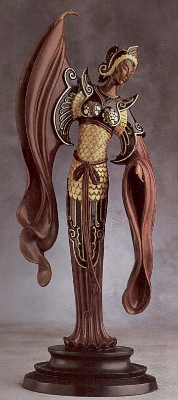 Erte Sculpture - Chinese Legend