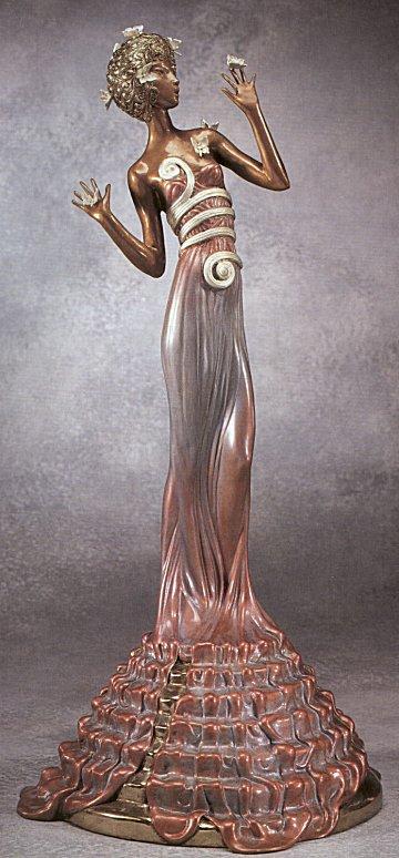 Erte Sculpture - Fantasia