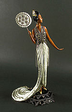 Erte Sculpture - Fedora