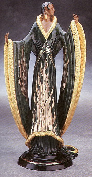Erte Sculpture - Femme de luxe