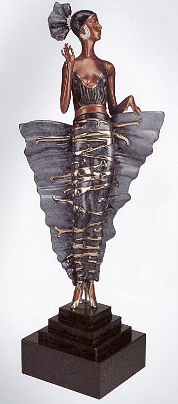 Erte Sculpture - Femme Fatale