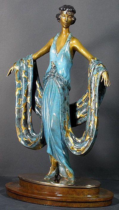 Erte Sculpture - Gala