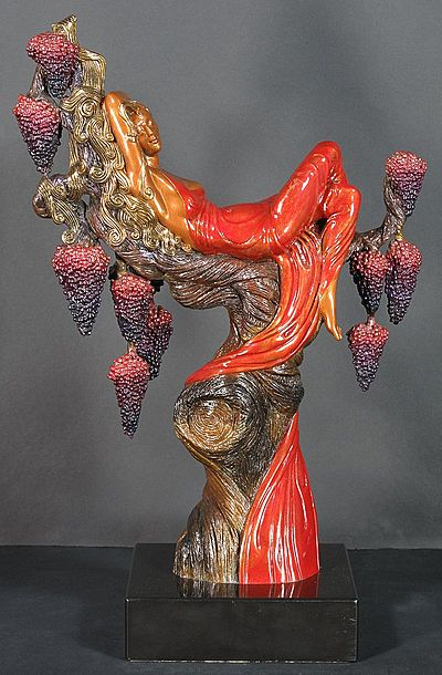 Erte Sculpture - Heat
