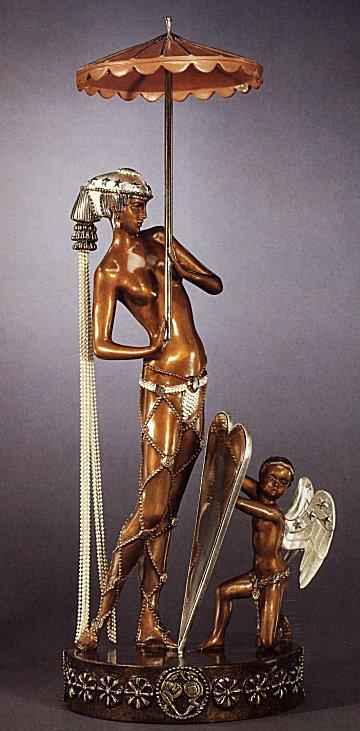 Erte Sculpture - Helen of Troy