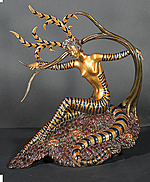 Erte Sculpture - The Hunting