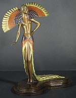 Erte Sculpture - Ibis