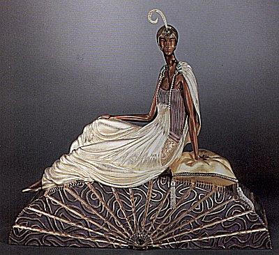 Erte Sculpture - King